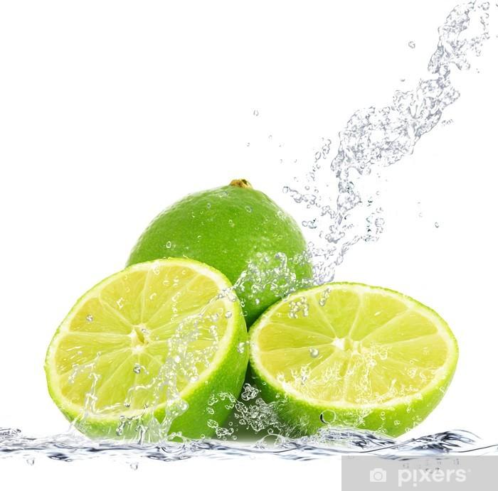 Fotomural Estándar Splash de limón - Comida