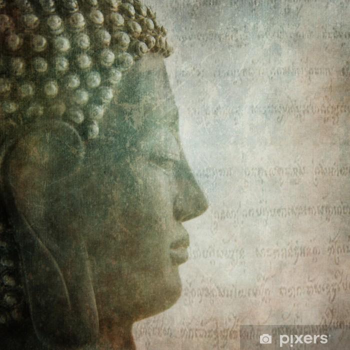 Fotomural Estándar Buda grunge de fondo estilo - Temas