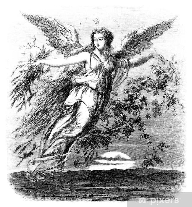 Fototapeta winylowa Piękne Angel - 19 wieku - Tematy