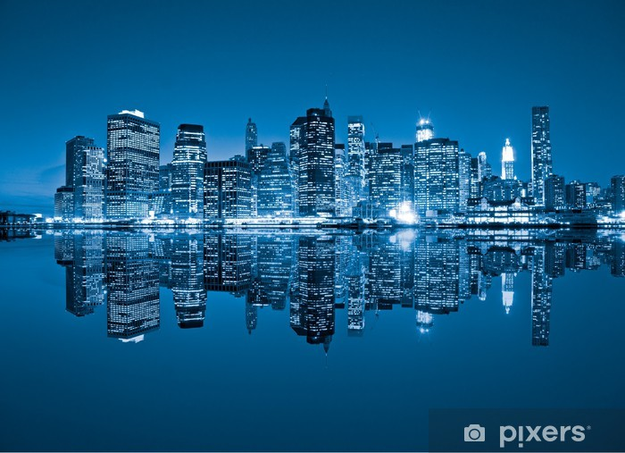 Fototapeta winylowa Manhattan, Nowy Jork. USA. -