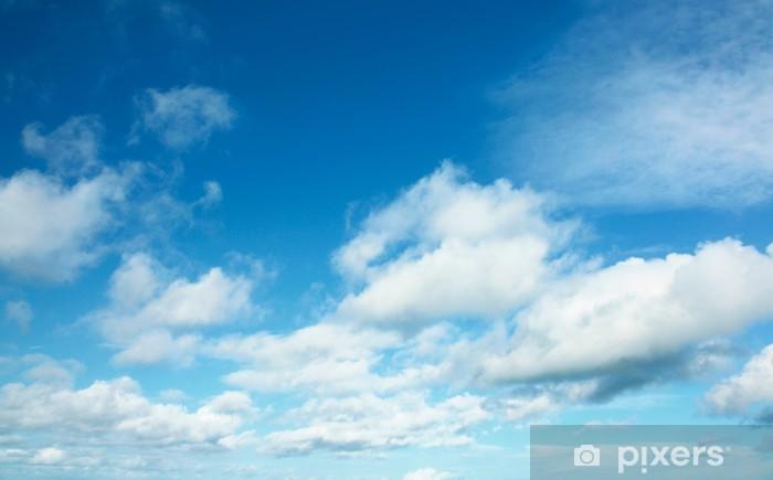 青空と雲 Pixerstick Sticker - Skies