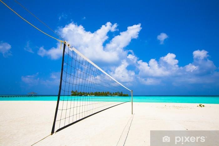 Fototapeta samoprzylepna Net siatkówka na plaży - Siatkówka