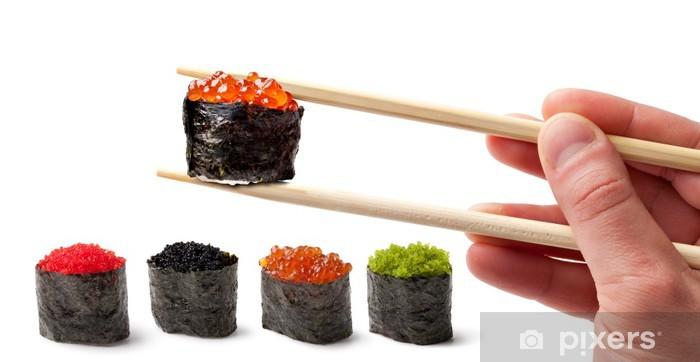 Papier peint vinyle Sushi - Ebi Nigiri - Sushi