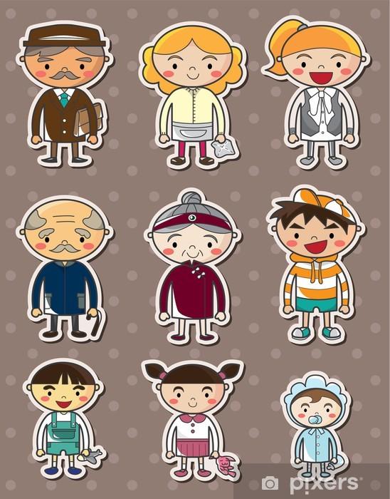 Pixerstick Sticker Familie stickers - Criteo