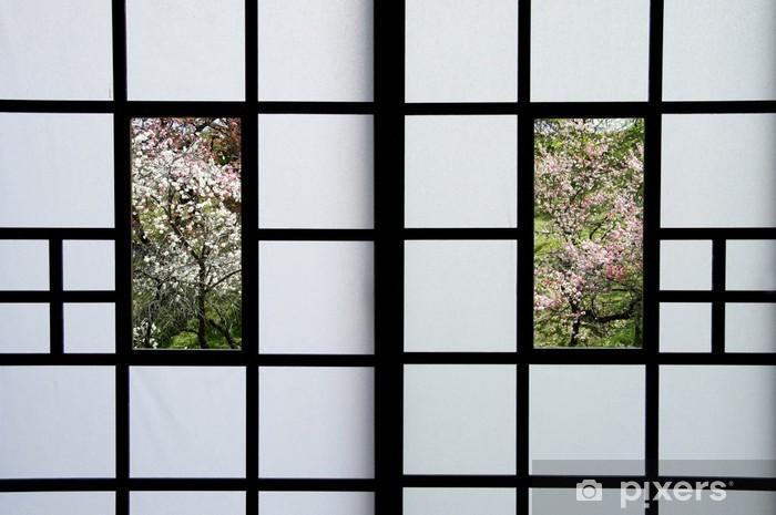 Papier peint vinyle Shoji - Construction privée