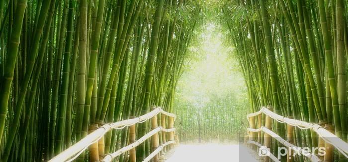 Naklejka Pixerstick Bamboo Avenue - Tematy