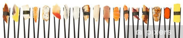 Papier peint vinyle Sushi Line-Up - Sushi