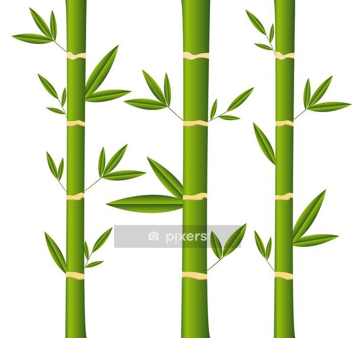 Sticker Mural Bambou   Maisons Et Jardins