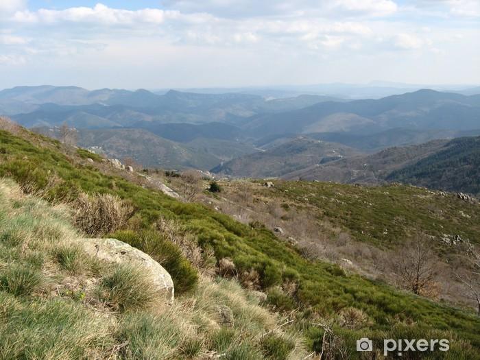 Fotomural Estándar Esquina de la Luzette - Montañas