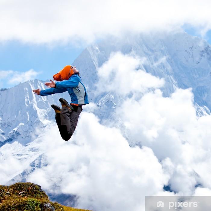 Fototapeta winylowa Turystyka w Himalajach - Tematy