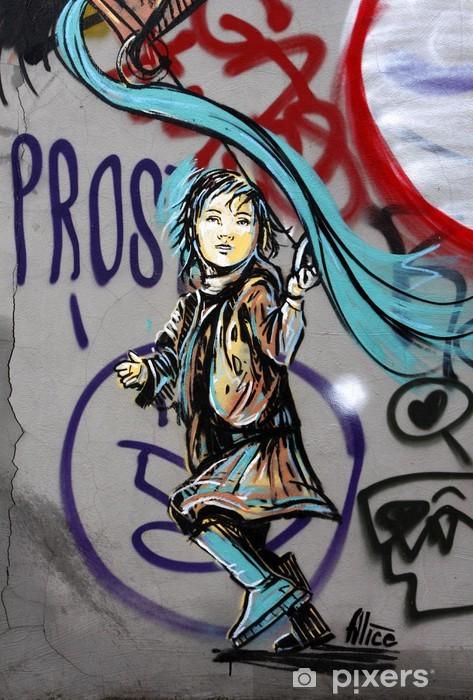 Carta da parati lavabile graffiti e scrittore pixers for Carta parati lavabile