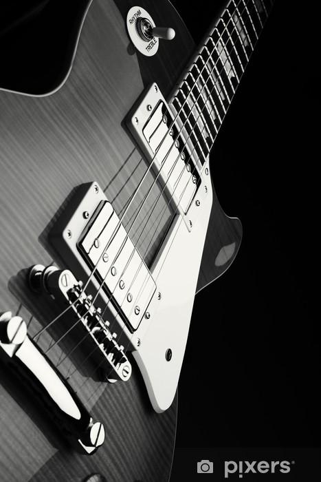 Nálepka Pixerstick E-Gitarre - Styly