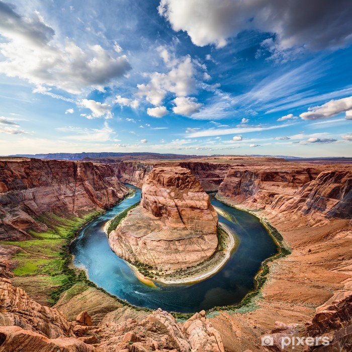 Horseshoe Bend canyon Poster - Themes