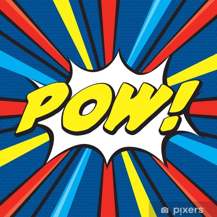 Vinyl Fotobehang POW! Pop Art - Thema's