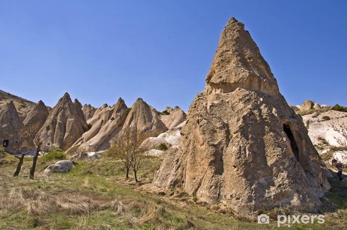 Cheminees De Fees En Cappadoce Turquie Wall Mural Pixers We
