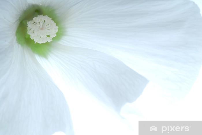 Sticker Pixerstick Fleur blanc - Fleurs