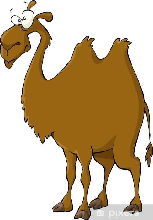 Pixerstick Aufkleber Kamel - Säugetiere
