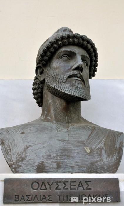 Carta da parati grecia statua di ulisse a itaca u pixers