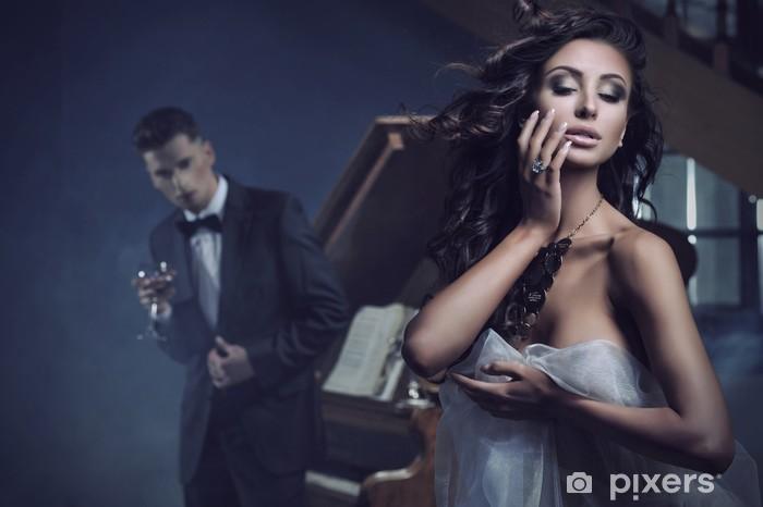 Nálepka Pixerstick Krása sexy žena - Páry