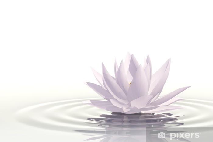 Floating waterlily Pixerstick Sticker - SPA & Wellness
