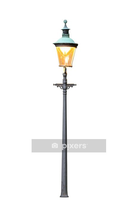 old street lamp Wall Decal - Electricity
