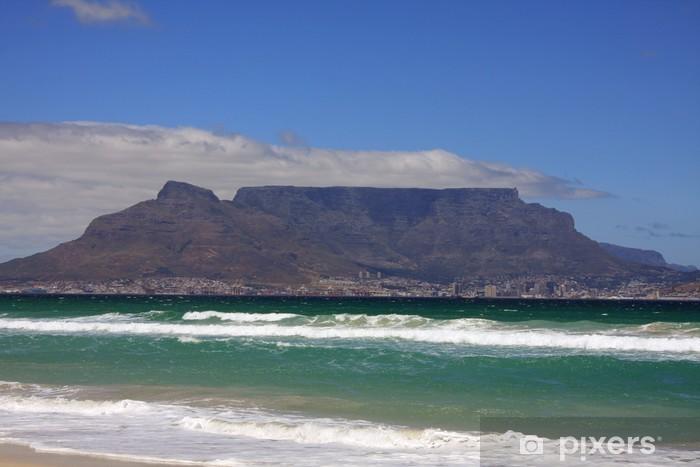 Vinyl Fotobehang Tafelberg - Zuid-Afrika - Afrika