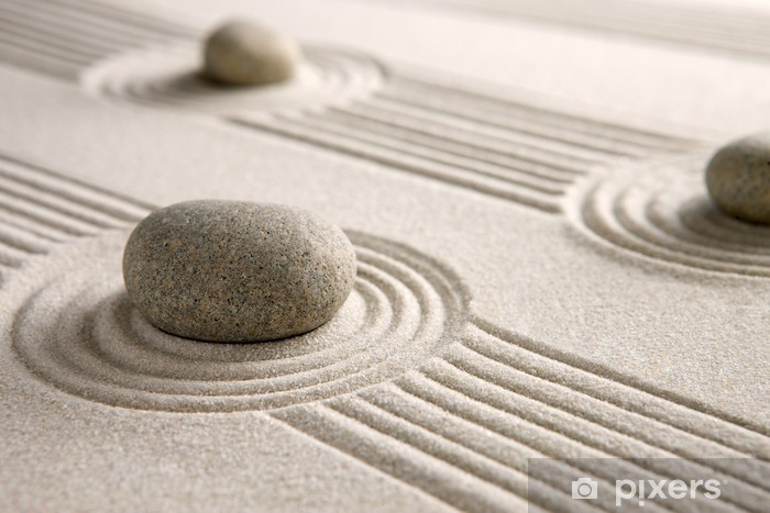 Fototapeta winylowa Mini ogród zen - Tematy