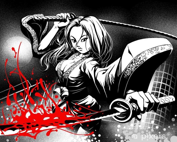when comics meet manga Vinyl Wall Mural - Art & lifestyle