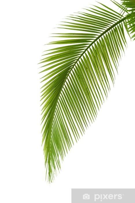 Sticker Pixerstick Feuille de palmier - Arbres et feuilles