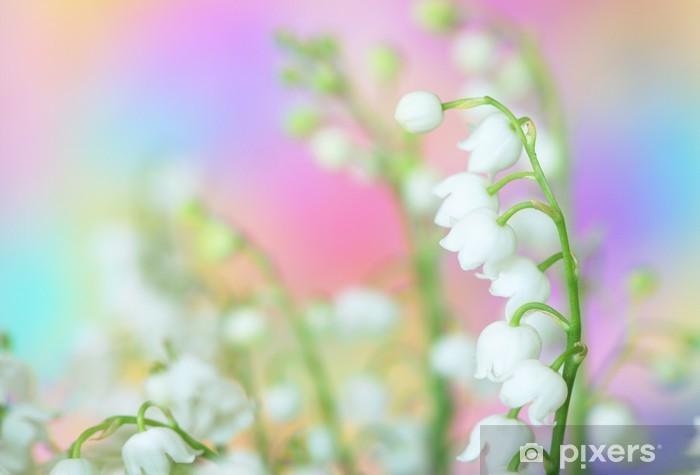 Fototapeta winylowa Lilia doliny - Kwiaty