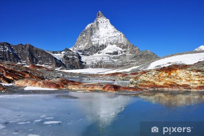 Naklejka Pixerstick Matterhorn - Góry