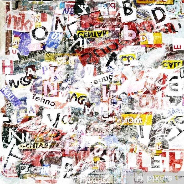 Grunge textured background Pixerstick Sticker - Art and Creation