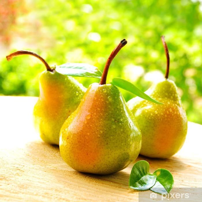 Sticker Pixerstick Poires juteuses - Fruits