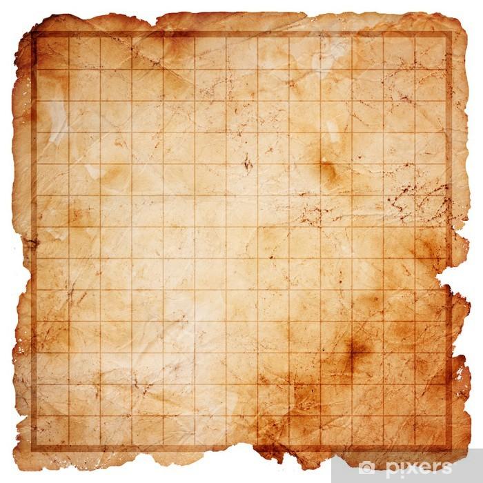 carte au trésor vide Poster Vide pirate carte au trésor • Pixers®   Nous vivons pour