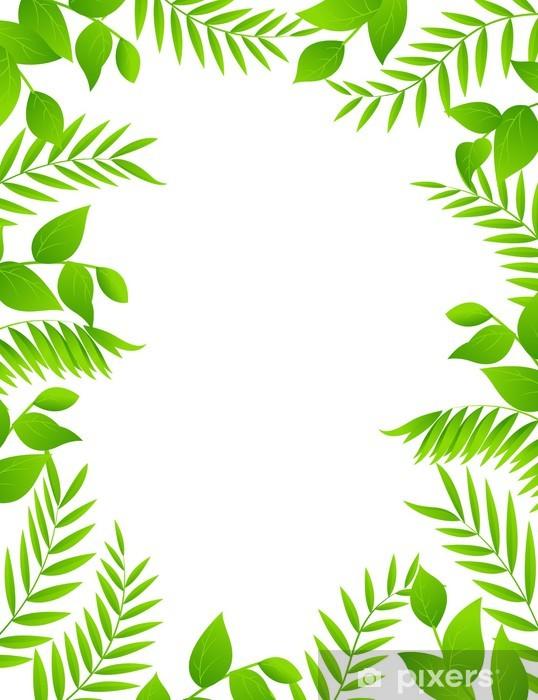 Papier peint vinyle Nature Background - Arbres