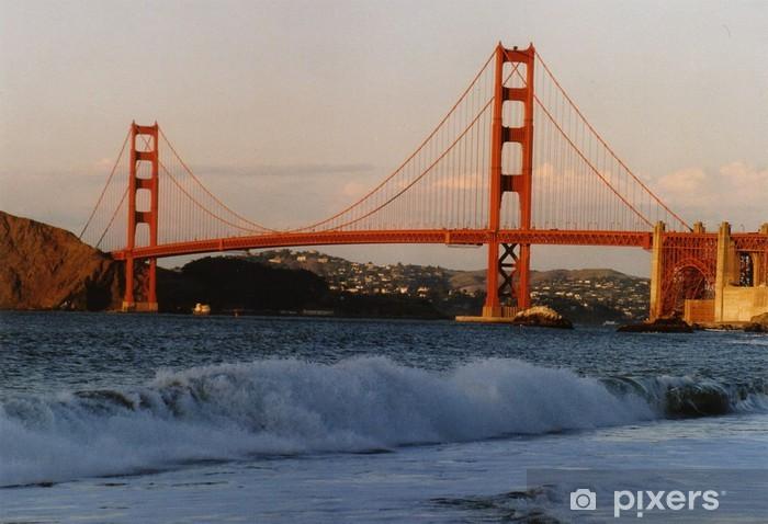 Naklejka Pixerstick San Francisco - Sporty na świeżym powietrzu