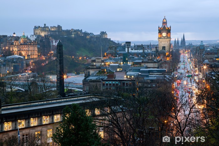 Vinyl-Fototapete Edinburgh, Schottland - Themen