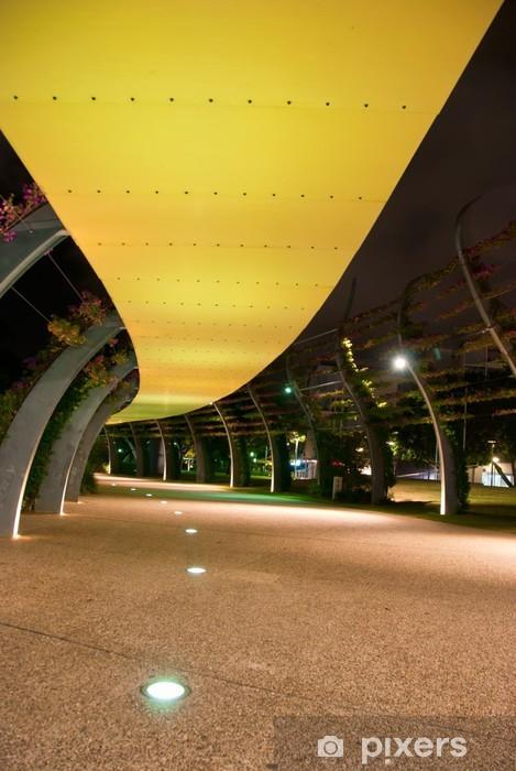 Vinyl-Fototapete Brisbane City - Southbank At Night - Queensland - Australien - Ozeanien
