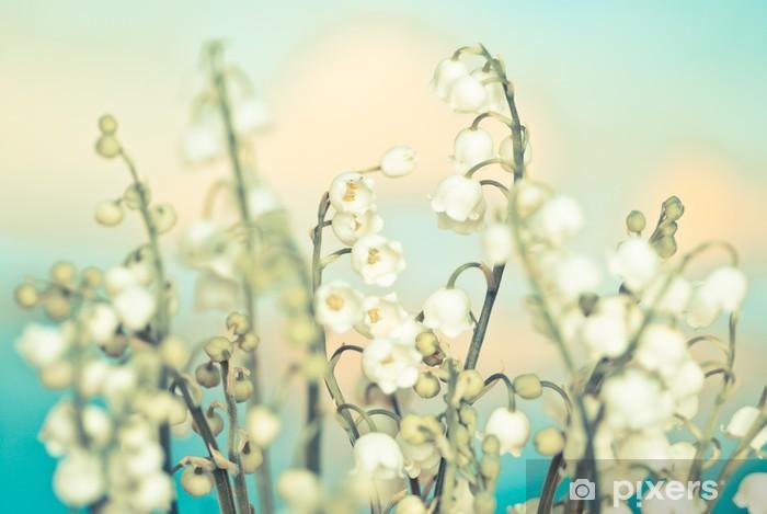 Fototapeta winylowa Kwiat konwalii - Pory roku