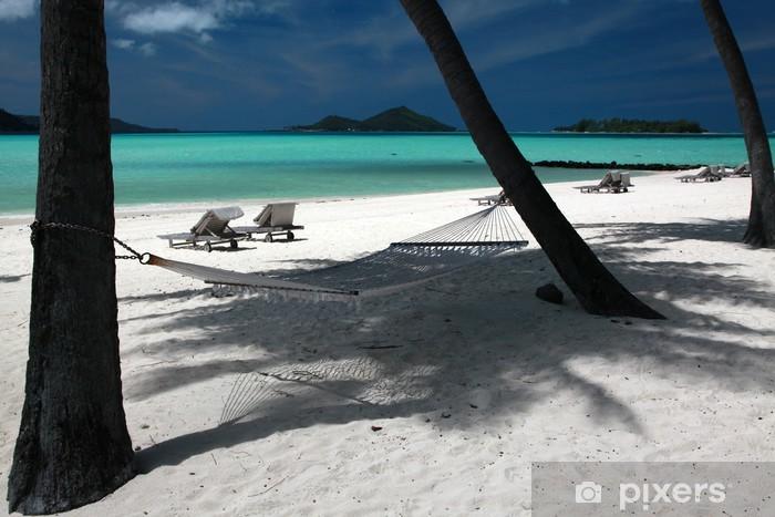 Fototapeta winylowa Laguna na Bora Bora - Wyspy