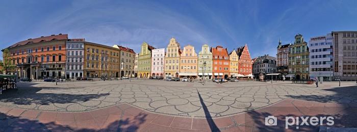 Fototapeta winylowa Plac Solny, Wrocław, Polska - Stitched Panorama - Europa