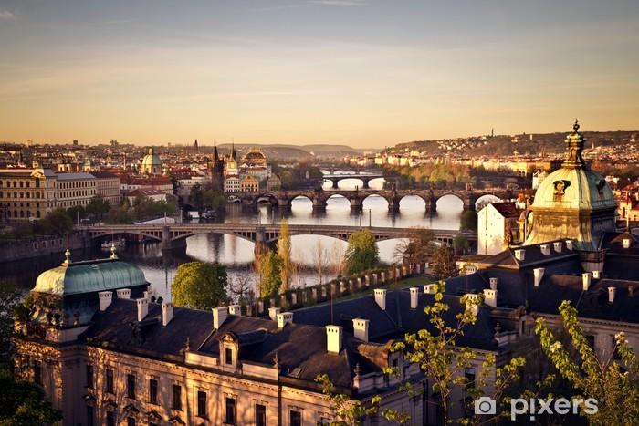 Fotomural Estándar Praga al amanecer - Praga