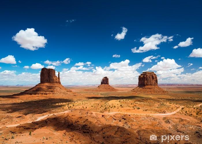 Pixerstick Sticker Monument Valley - Woestijn