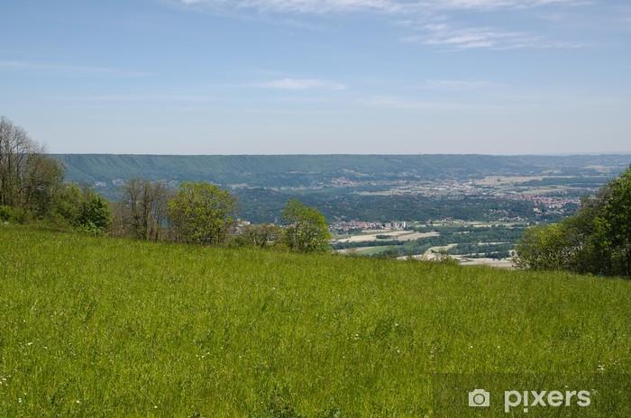 Papier peint vinyle Vue panoramique de la moraine à effet de serre d'Ivrea - Campagne