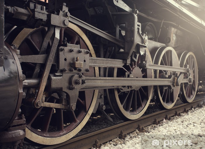 Papier peint vinyle Train a vapeur - Styles