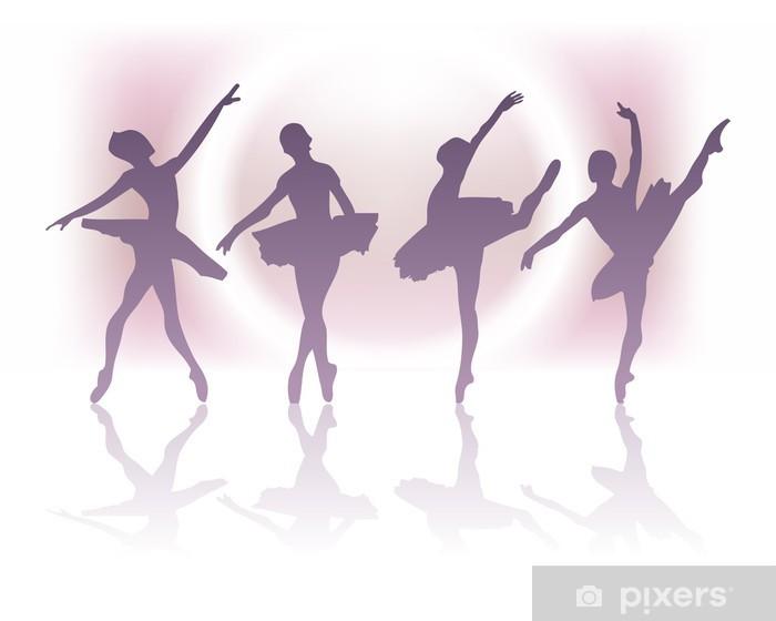 Vinilo Pixerstick Ballet - Artes y creación