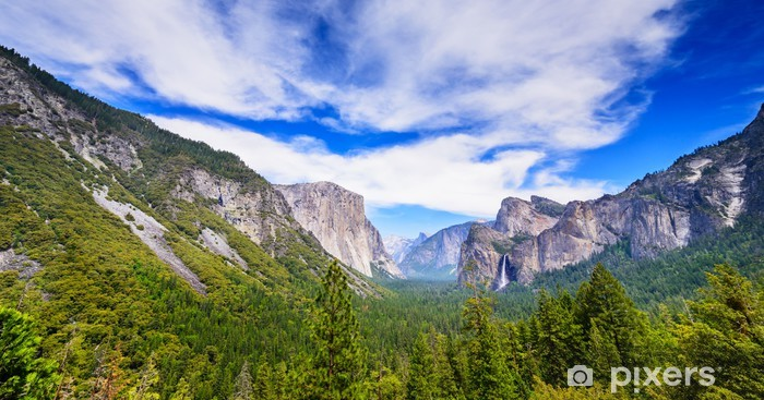 Carta da Parati in Vinile Yosemite national park - America