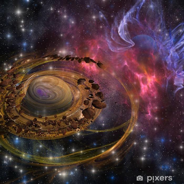 Papier peint vinyle Formation planète - Nébuleuse