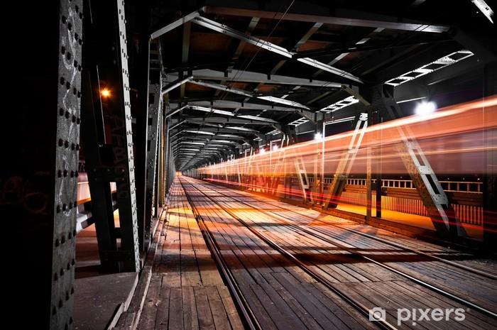 Vinilo Pixerstick Puente de Gdańsk - Temas