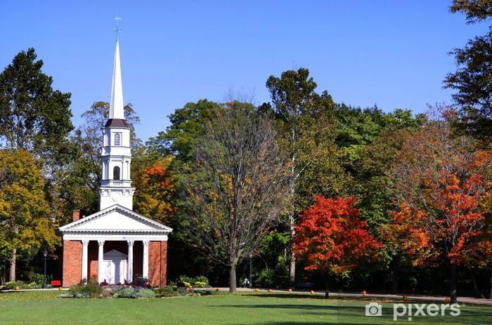 Papier peint vinyle L'église historique dans Henry Ford musium Michigan - Autres